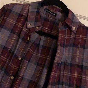Brandy Melville flannel top